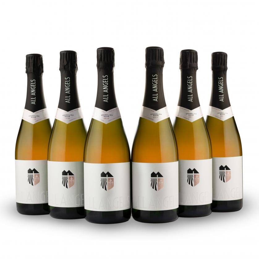 Six bottles<br>SPARKLING ROSÉ
